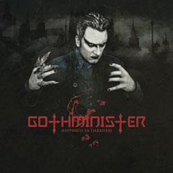 "Cover der CD ""Happiness in Darkness""; der Band ""GOTHMINISTER"""