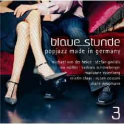 "Cover der CD ""Various""; der Band ""Blaue Stunde-Popjazz Made in Germany Vol.3"""