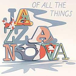 """Cover der CD """"Of All The Things""""; der Band """"Jazzanova"""""""