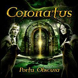 "Cover der CD ""Porta Obscura""; der Band ""CORONATUS"""
