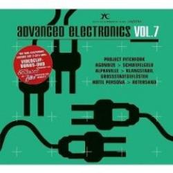 "Cover der CD ""Advanced Electronics 7""; der Band ""Various"""