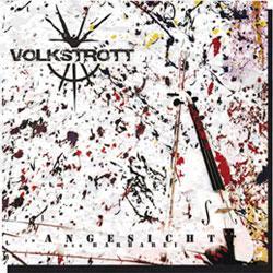 """Cover der CD """"Im Angesicht der Barbarei""""; der Band """"Volkstrott"""""""