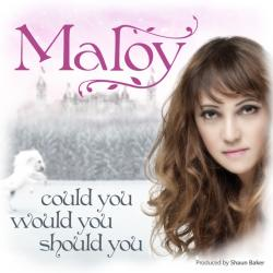 "Cover der CD ""Could You, Would You, Should You""; der Band ""Maloy"""