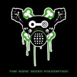 "Cover der CD ""The Sonic Boom Foundation""; der Band ""The Sonic Boom Foundation"""