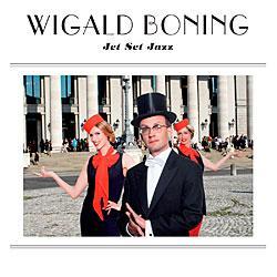 """Cover der CD """"Jet Set Jazz""""; der Band """"Wigald Boning"""""""