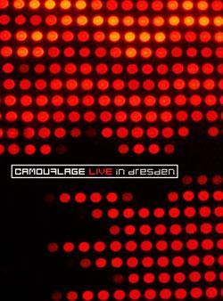 "Cover der CD ""Live in Dresden""; der Band ""Camouflage"""