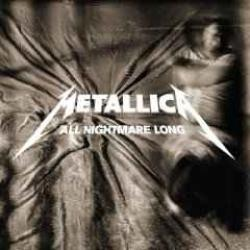 "Cover der CD ""All Nightmare Long""; der Band ""Metallica"""