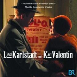"""Cover der CD """"Liesl Karlstadt & Karl Valentin""""; der Band """"Konstantin Wecker"""""""