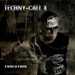 "Cover der CD ""Evolution""; der Band ""Techny-Call X"""