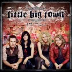 "Cover der CD ""A Place To Land""; der Band ""Little Big Town"""