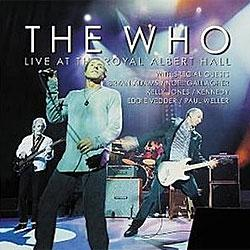 "Cover der CD ""Live at the Royal Albert Hall""; der Band ""The Who"""
