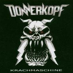 "Cover der CD ""Krachmaschine""; der Band ""Donnerkopf"""