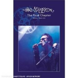 "Cover der CD ""The Final Chapter""; der Band ""The Mission"""