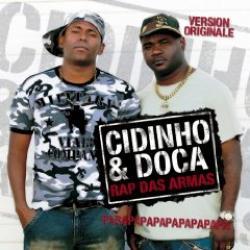 """Cover der CD """"Rap das Armas""""; der Band """"Cidinho & Doca"""""""