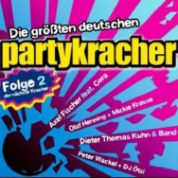 """Cover der CD """"Die Grössten Deutschen Partykracher Vol.2""""; der Band """"Various"""""""