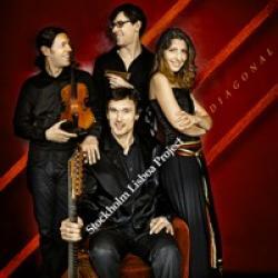 """Cover der CD """"Diagonal""""; der Band """"Stockholm Lisboa Project"""""""