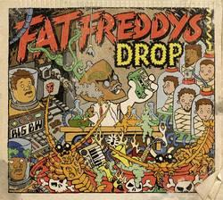 "Cover der CD ""Dr. Boondigga & The Big BW""; der Band ""Fat Freddys Drop"""