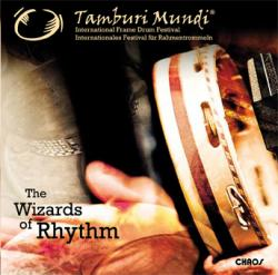 "Cover der CD ""The Wizards of Rhythm""; der Band ""Tamburi Mundi"""