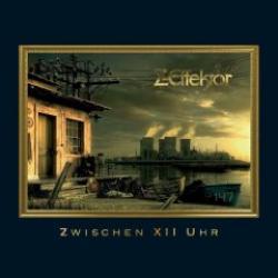 """Cover der CD """"Zwischen XII Uhr""""; der Band """"Z Effektor"""""""