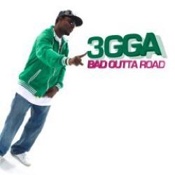 "Cover der CD ""Bad Outta Road""; der Band ""3gga"""