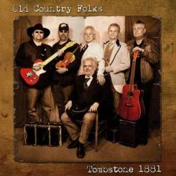 "Cover der CD ""Tombstone 1881""; der Band ""Old Country Folks"""
