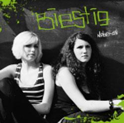 "Cover der CD ""Nebenan""; der Band ""BIESTIG"""