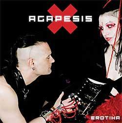 "Cover der CD ""Erotika (2009)""; der Band ""Agapesis"""