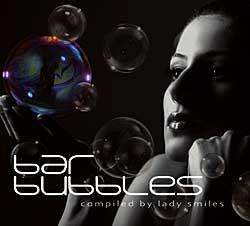 "Cover der CD ""Compiled by Lady Smiles""; der Band ""BAR BUBBLES"""