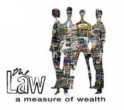 "Cover der CD ""A Measure of Wealth""; der Band ""The Law"""