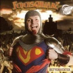 "Cover der CD ""Metvernichter""; der Band ""Feuerschwanz"""