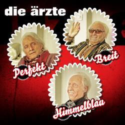 """Cover der CD """"HimmelblauPerfektBreit""""; der Band """"Die Ärzte"""""""