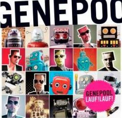 """Cover der CD """"Lauf!Lauf!""""; der Band """"Genepool"""""""