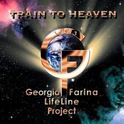 "Cover der CD ""Train to Heaven""; der Band ""Georgio Farina Lifeline Project"""