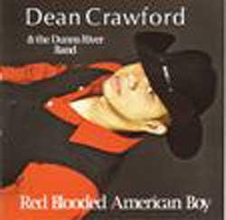 "Cover der CD ""Red Blooded American Boy""; der Band ""Dean Crawford"""