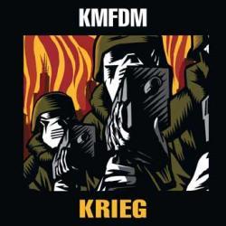 """Cover der CD """"Krieg""""; der Band """"KMFDM"""""""