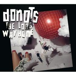 "Cover der CD ""The long way home""; der Band ""Donots"""