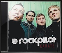 """Cover der CD """"Karate""""; der Band """"Rockpilot"""""""