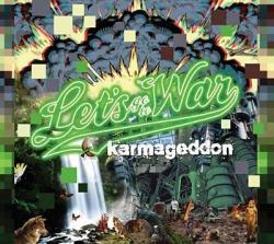 """Cover der CD """"KARMAGEDDON""""; der Band """"LET"""