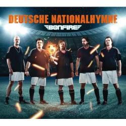"""Cover der CD """"Deutsche Nationalhymne""""; der Band """"Bonfire"""""""